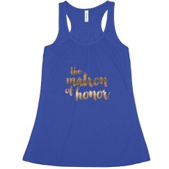 Matron of Honor Tank Top