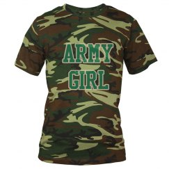Army Girl Tee