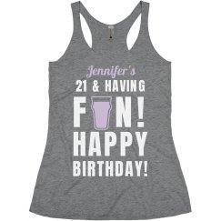 Jennifer's 21st Birthday