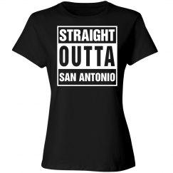 Straight outta San Antonio