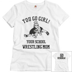 Go Girl Wrestling Mom