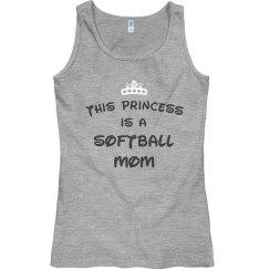 This princess is a softball mom.