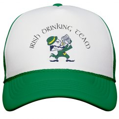 Irish drinking team cap