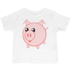 Pink Piggy Tee Shirt