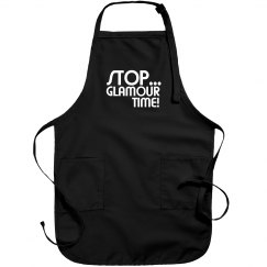 Stop... Glamour Time! stylist salon apron