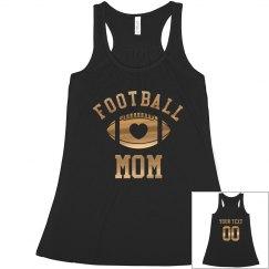 Custom Football Mom Shirts Hoodies Tank Tops Amp More