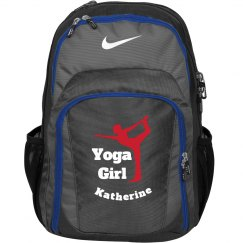 Yoga Girl Backpack Bag