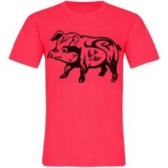 Tattooed Pig