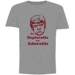 So Deplorable I'm Adorable Youth Tshirt