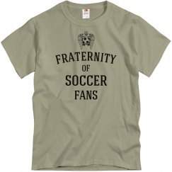 Fraternity of soccer fans