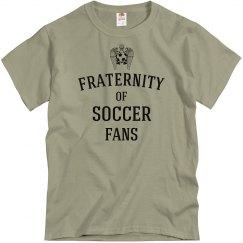 Fraternity of soccer fans