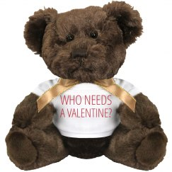 Anti Valentine Teddy Bear