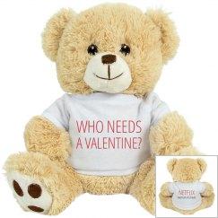 Anti Valentine Teddy Bear