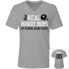 The Trendy Real Football Mom Shirt