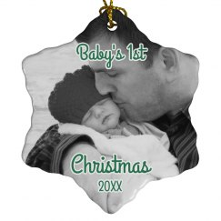 1st Christmas Baby Ornament