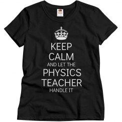 Physics Teacher Handle It