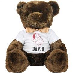 Cute Santa Teddy Bear