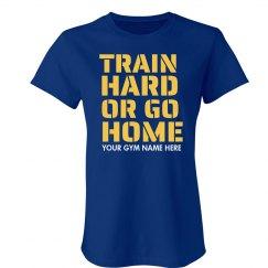 Train Hard Gym Workout