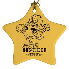 Cute Cheer Star Jessica