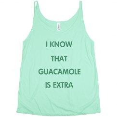 I Know Guacamole's Extra