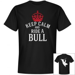 keep calm and ride a Bull