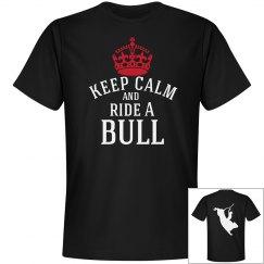 keep calm and ride a Bull