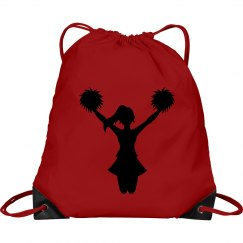 Cheerleader Cinch Bag
