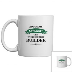 World's best Builder Mug