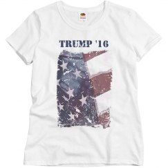 Trump '16 Distressed Flag