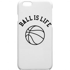 Ball is Life iPhone Case