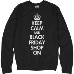 Keep Calm And Black Friday Shop On