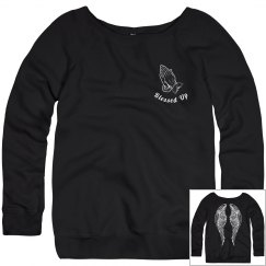 Blessed Up Winged Hoodie