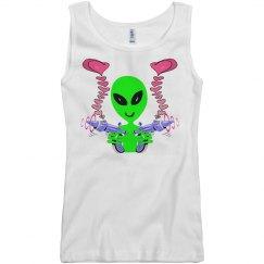 Alien Laser Love Tag