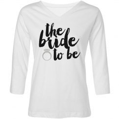 The bride to be