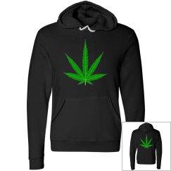 Green Cannabis Leaf