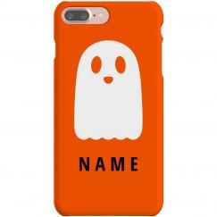 Custom Name Cute Halloween Ghost