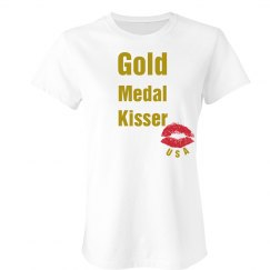 Gold Medal Kisser