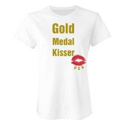 Gold Medal Kisser