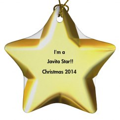 Javita star ornament 1