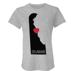 Custom Delaware Heart