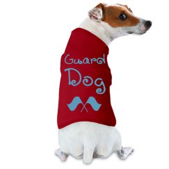 Guard Dog (Color Guard Flag Logo)