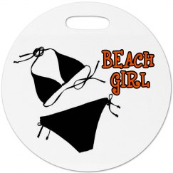 Beach Girl Luggage Tag
