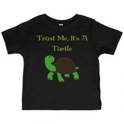 It's a turtle