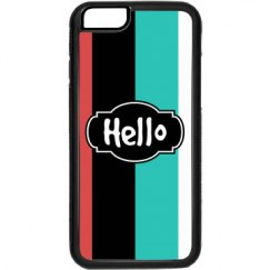 Hello (Rubber iPhone 6 Cover)