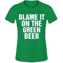 Blame It On Green Beer