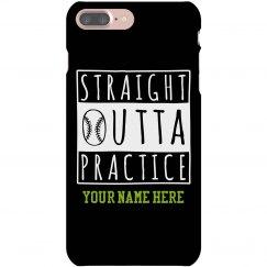 Straight Outta Softball Case