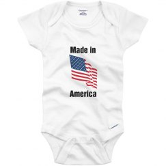 Made in America infant top