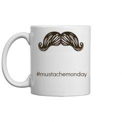 mustache Monday mug