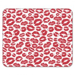 Kisses Mouse Pad