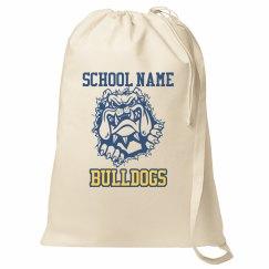 Bulldog School Mascot